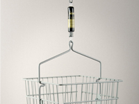 Made from steel, Shower Baskets are safe, secure, and can even come with a divider.