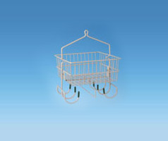 Industrial Storage Baskets are corrosion resistant and can hold up in any environment